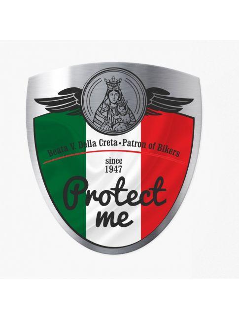Naklejka flaga - IT Protect me