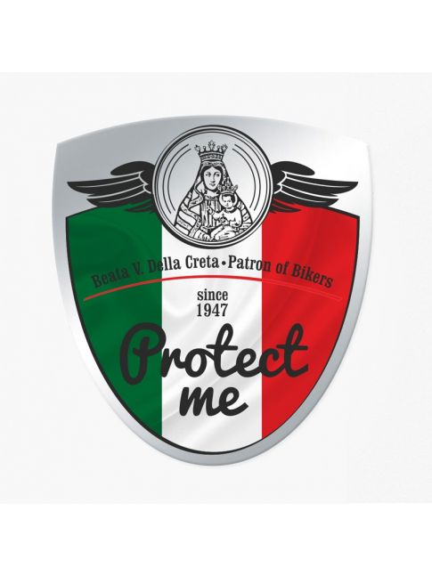Sticker IT- flag protect me