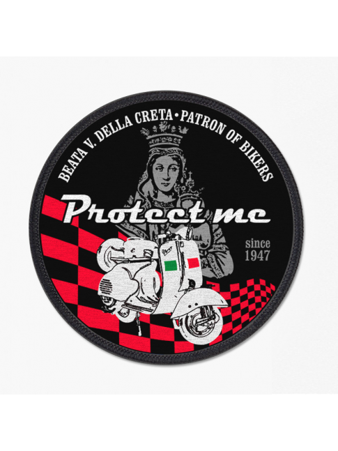 Round patch Vespa